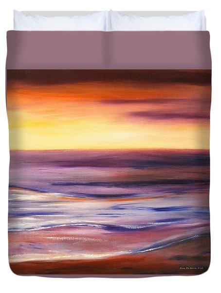 Brushed 9 Duvet Cover by Gina De Gorna