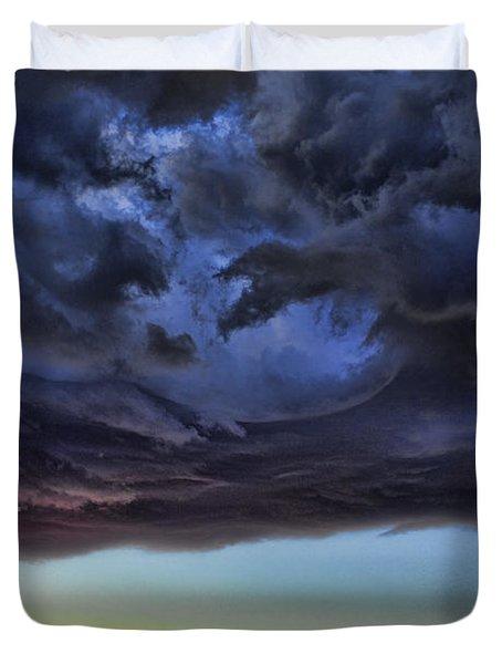 Bubble Cloud Duvet Cover by Douglas Barnard