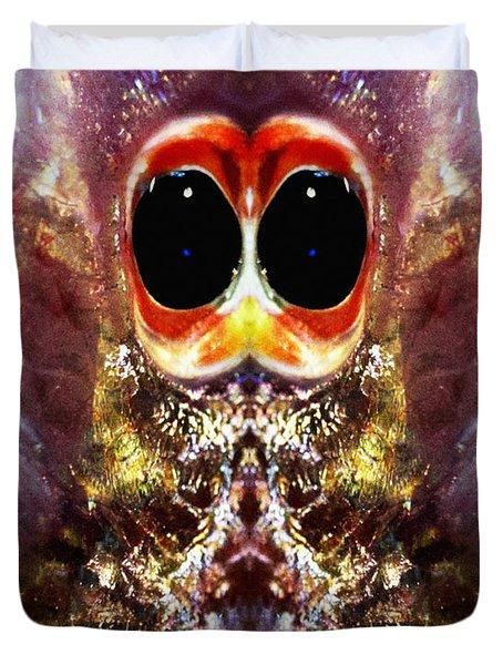 Bug Eyes Duvet Cover by Skip Nall