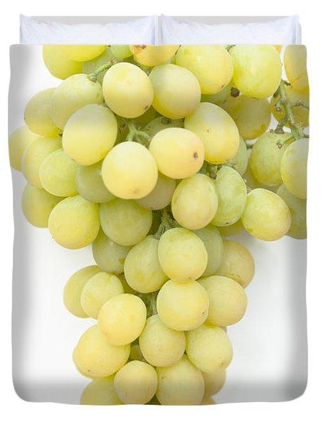 Bunch Of Grapes Duvet Cover by Maj Seda
