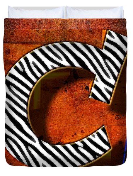 C Duvet Cover by Mauro Celotti