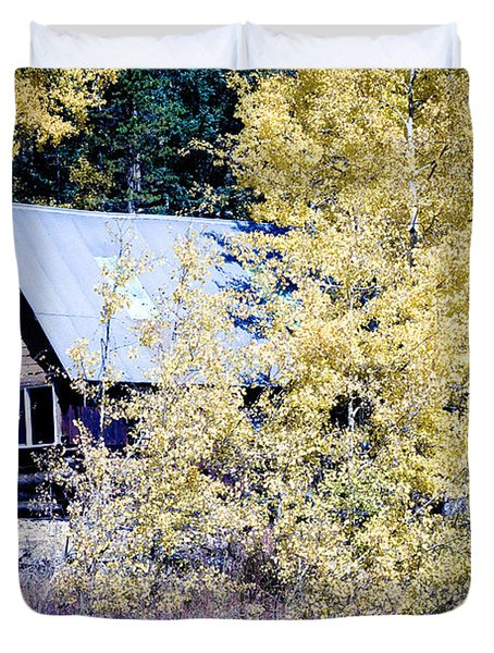 Cabin Hideaway Duvet Cover by James BO  Insogna