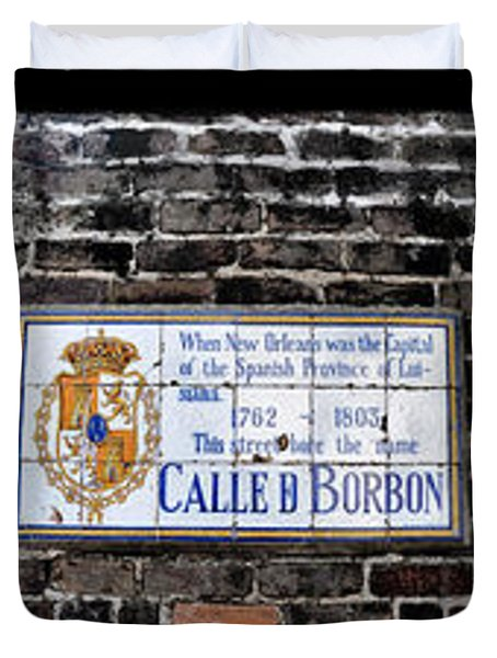 Calle D Borbon Duvet Cover by Bill Cannon