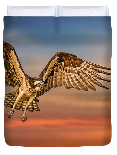 Calling It A Day Duvet Cover by Susan Candelario