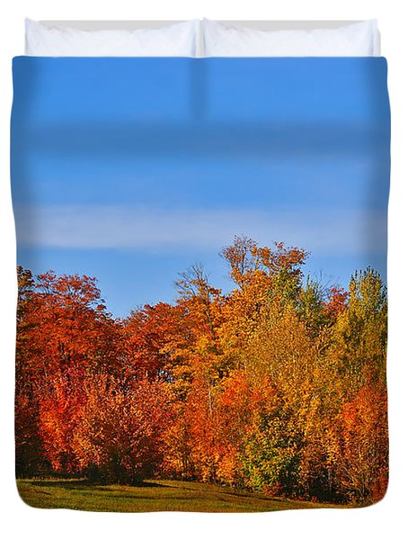 Canada in Colors Duvet Cover by Aimelle