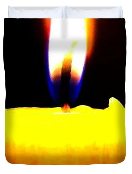 Candle Power Duvet Cover by Will Borden