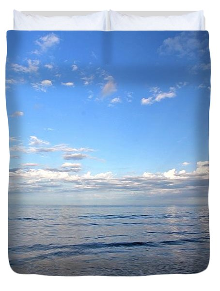 Cape Cod Summer Sky Duvet Cover by Juergen Roth