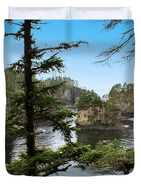 Cape Flattery Duvet Cover by Christy Leigh