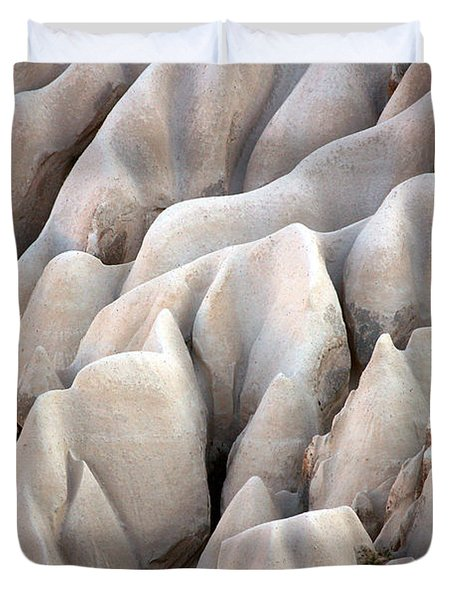 Cappadocia Rocks Duvet Cover by RicardMN Photography