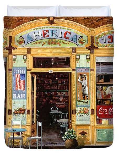Casa America Duvet Cover by Guido Borelli
