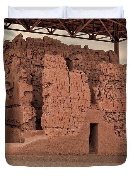 Casa Grande Ruins IIi Duvet Cover by Donna Van Vlack