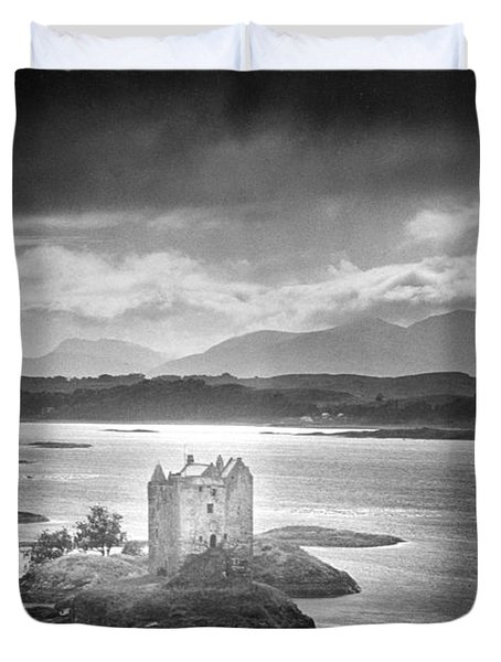 Castle Stalker Duvet Cover by Simon Marsden