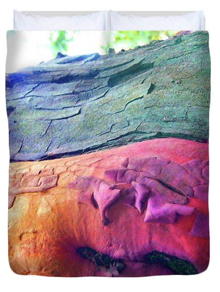 Duvet Cover featuring the digital art Celebration by Richard Laeton