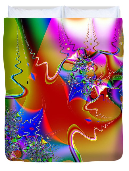 Celebration . Square . S16 Duvet Cover by Wingsdomain Art and Photography