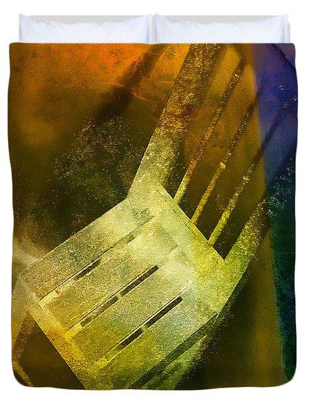 Chair  Duvet Cover by Mauro Celotti