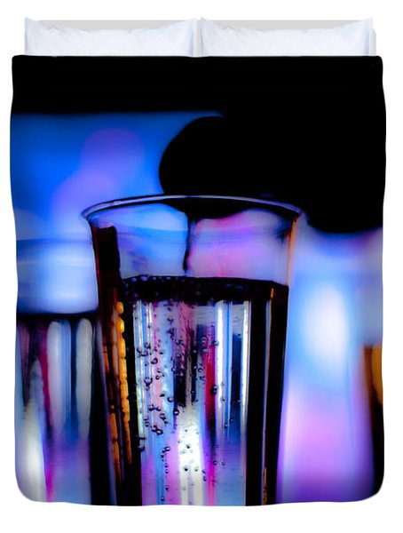 Champagne Duvet Cover by Hakon Soreide