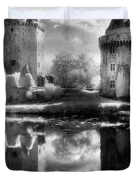 Chateau De Largoet Duvet Cover by Simon Marsden