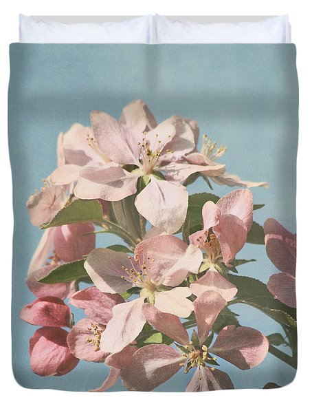 Cherry Blossoms Duvet Cover by Kim Hojnacki