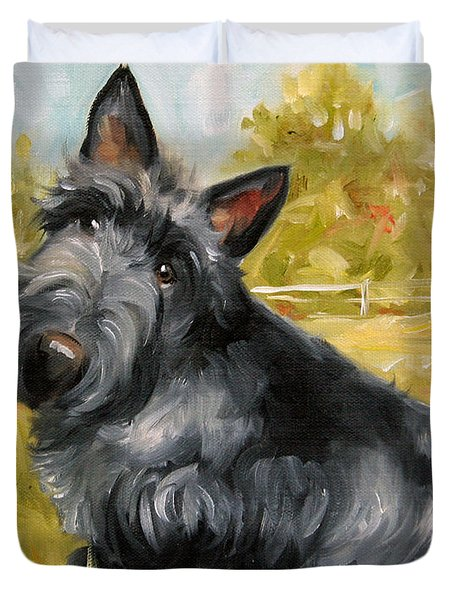 Chester Duvet Cover by Mary Sparrow