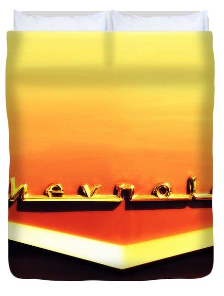 Chevrolet Duvet Cover by Susanne Van Hulst