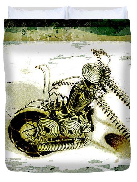 Chopper 1 Duvet Cover by Mauro Celotti