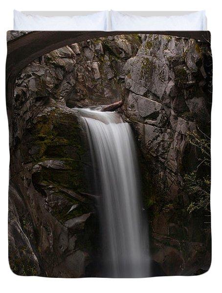 Christine Falls Serenity Duvet Cover by Mike Reid