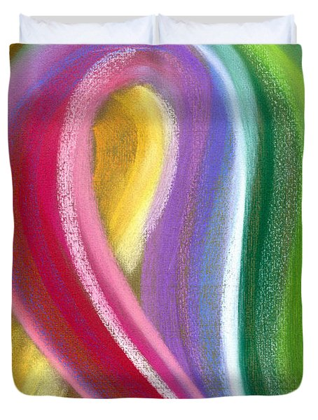 Chromatic Duvet Cover by Hakon Soreide