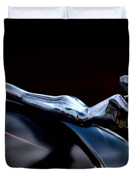 Chrome Angel Duvet Cover by Douglas Pittman