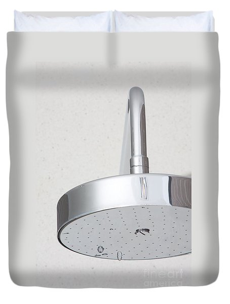 chrome shower head Duvet Cover by ATIKETTA SANGASAENG