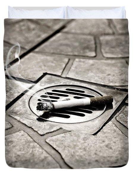 cigarette Duvet Cover by Joana Kruse