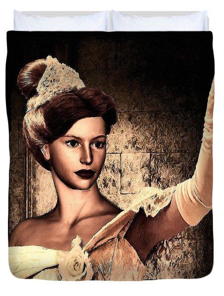 Cinderella Duvet Cover by Lourry Legarde