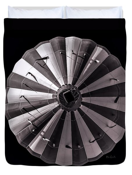 Circle Duvet Cover by Bob Orsillo
