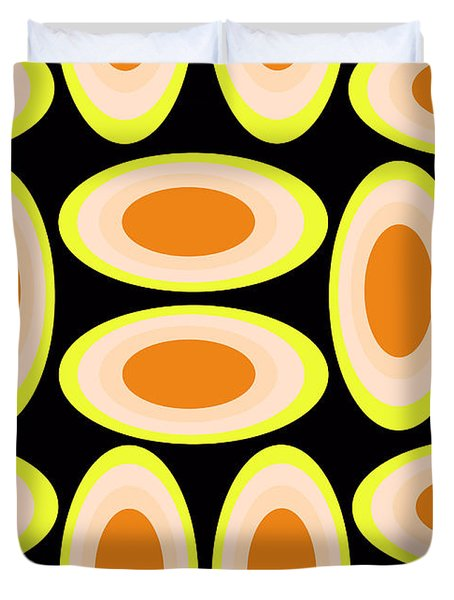 Circles Duvet Cover by Louisa Knight