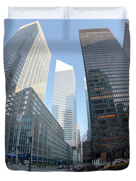 Citigroup Center From Park Avenue I Duvet Cover by Clarence Holmes