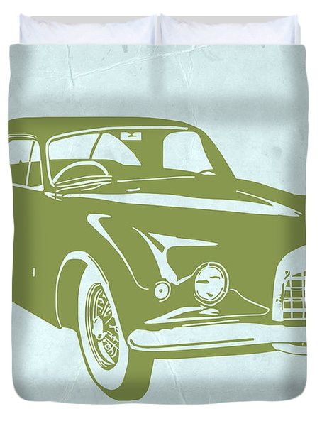 Classic Car Duvet Cover by Naxart Studio