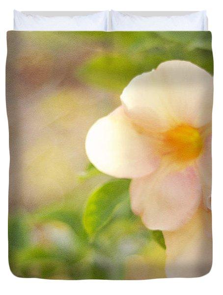 Closeness Duvet Cover by Jenny Rainbow