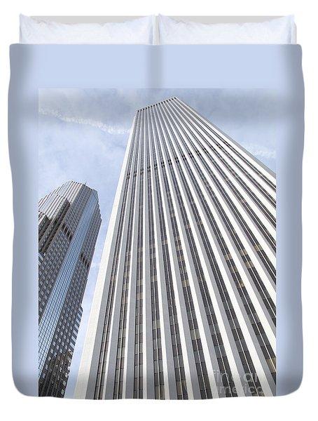 Cloudscraper Duvet Cover by Ann Horn