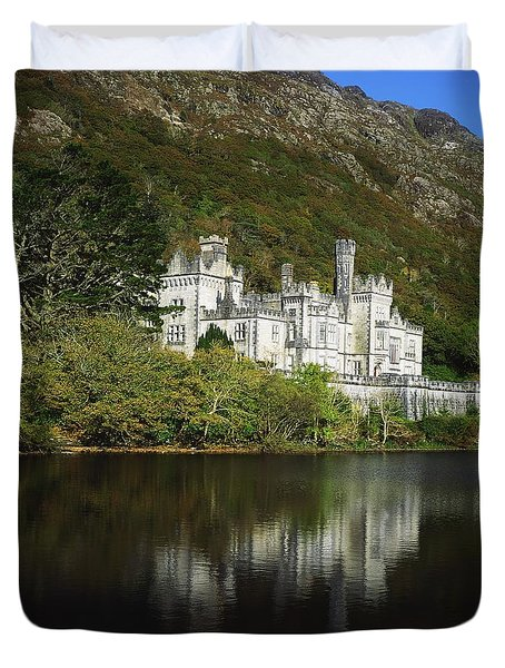Co Galway, Kylemore Abbey Duvet Cover by The Irish Image Collection