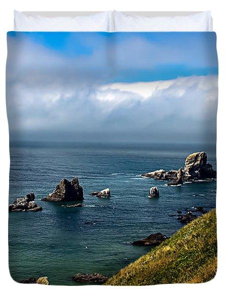 Coastal Look Duvet Cover by Robert Bales