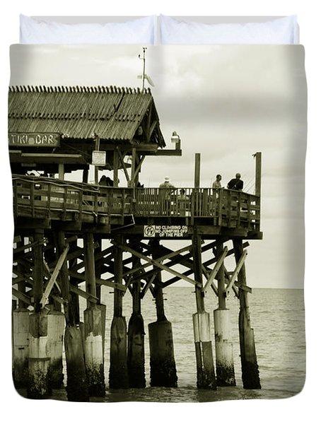 Cocoa Beach FL II Duvet Cover by Susanne Van Hulst