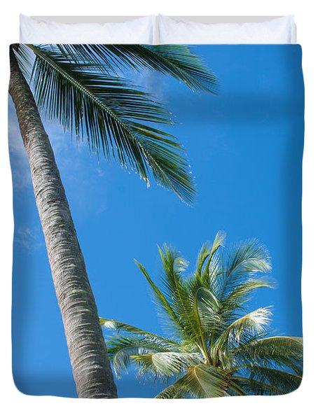 coconuts  Duvet Cover by ATIKETTA SANGASAENG