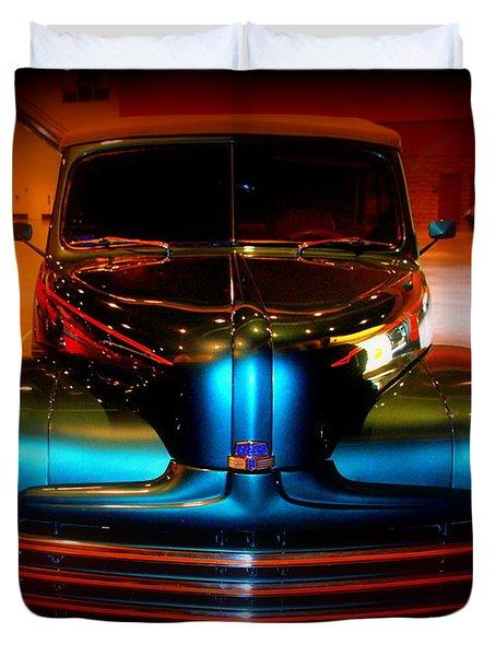 Collector Car Duvet Cover by Susanne Van Hulst