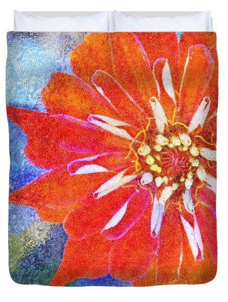 Color Symphony III Duvet Cover by Brett Pfister