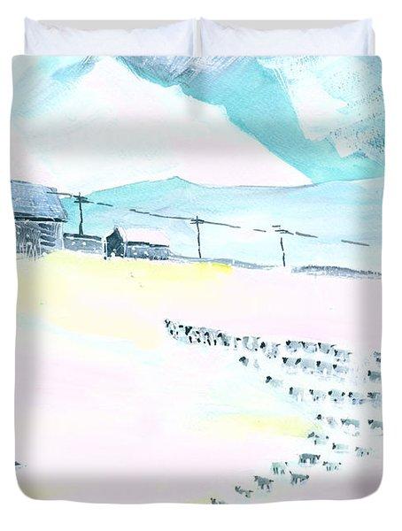 Coming Home Duvet Cover by Anil Nene