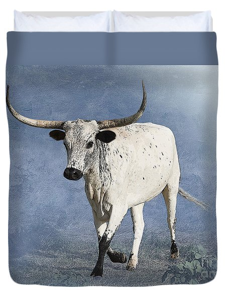 Coming Home Duvet Cover by Betty LaRue