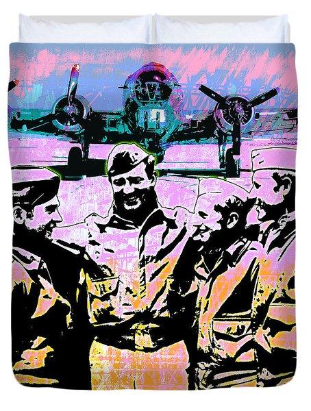 Comradeship Duvet Cover by Gary Grayson