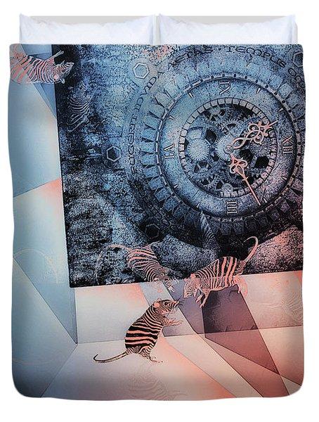 Confusion Duvet Cover by Jutta Maria Pusl