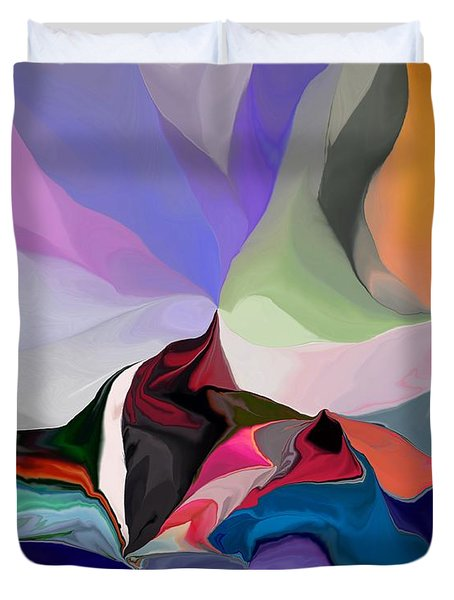 Conjuncture Duvet Cover by David Lane