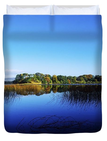Cottage Island, Lough Gill, Co Sligo Duvet Cover by The Irish Image Collection