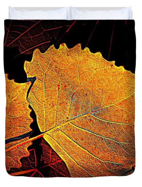 Cottonwood   Duvet Cover by Chris Berry